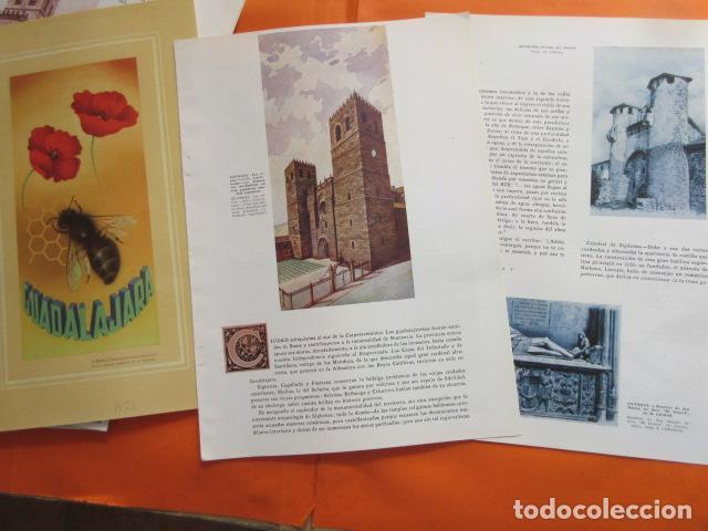 ARTICULO 1956 - GUADALAJARA SIGUENZA PASTRANA MOLINA DE ARAGON (Coleccionismo - Folletos de Turismo)