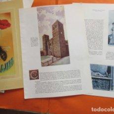 Folletos de turismo: ARTICULO 1956 - GUADALAJARA SIGUENZA PASTRANA MOLINA DE ARAGON. Lote 220242268