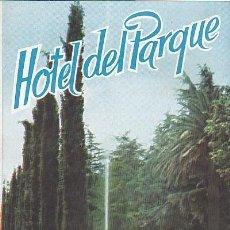 Brochures de tourisme: FOLLETO TURISTICO HOTEL DEL PARQUE SAN ANDRES DE LLAVANERAS. Lote 220851976