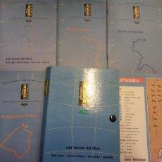 Brochures de tourisme: LAS TERRES DEL EBRE. RUTAS CATALANAS. EL PERIÓDICO. Lote 221542597