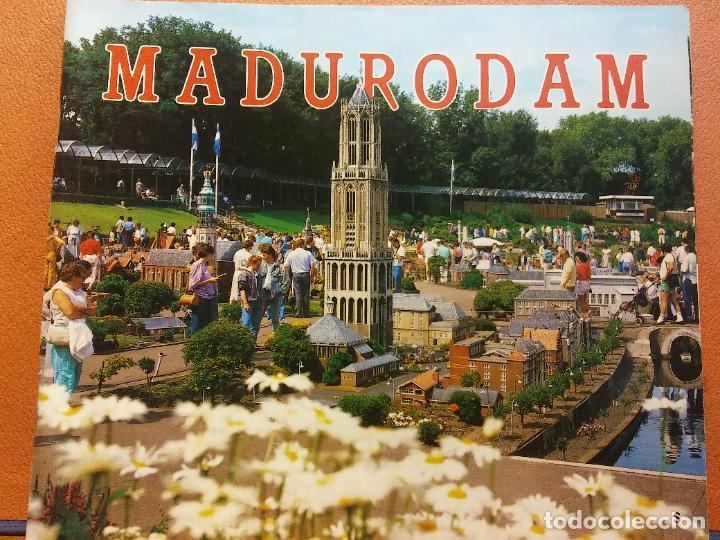 MADURODAM. CIUDAD MINIATURA MADURODAM. LA HAYA - HOLANDA (Coleccionismo - Folletos de Turismo)