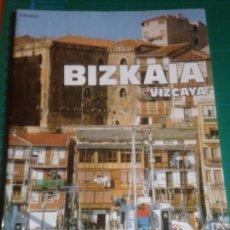 Folletos de turismo: BIZKAIA - VIZCAYA - GUIDA - GUIA - EN ITALIANO 1990. Lote 221952021