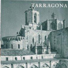 Folletos de turismo: 1961 FOLLETO TURÍSTICO DE TARRAGONA MUCHA FOTOGRAFÍA RESUMEN HISTÓRICO Y POSIBILIDADES TURÍSTICAS. Lote 222175233