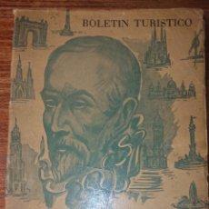 Folletos de turismo: BOLETIN TURISTICO BARCELONA Y SU PROVINCIA. Lote 222175693