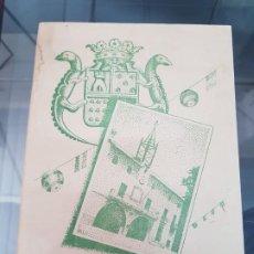 Folletos de turismo: ANTIGUO PROGRAMA DE FIESTAS NOVELDA ALICANTE 1950. Lote 222748476