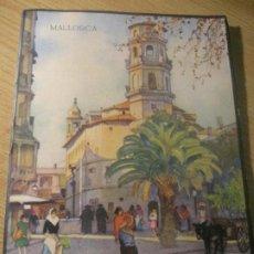 Folletos de turismo: ANTIGUO FOLLETO TURISMO MALLORCA . NUMEROSAS FOTOS HUECOGRABADO MUMBRU . BARGUÑO. Lote 222930163