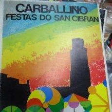 Folletos de turismo: DIFERENTE PORTADA FIESTAS DO SAN CIBRÁN CARBALLINO 1982 CASI 100 PÁGINAS PUBLICIDAD. Lote 224491056