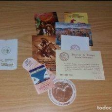 Folletos de turismo: CARTAGINESES Y ROMANOS. FUNDA JUEGOS CARTHAGINENSES, CARTAGENA 1972. Y LOTE DE OTRAS PUBLICIDADES. Lote 226008705