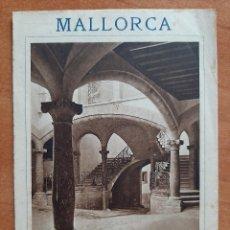 Folletos de turismo: FOLLETO ANTIGUO DE MALLORCA. Lote 227139955
