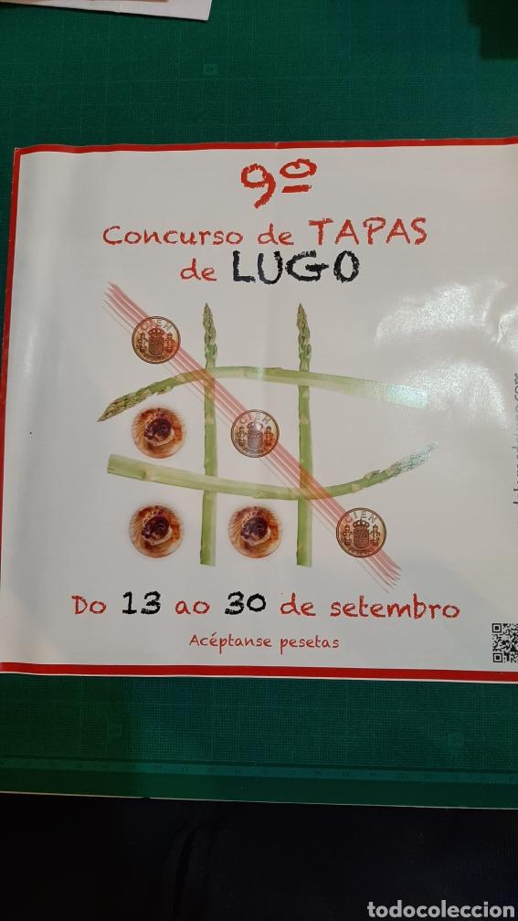 LUGO CONCURSO TAPAS 9 EDICIÓN COLISEVM COLECCIONISMO LIBRERIA ANTIGÜEDADES O ALMACÉN DO COLISEVM (Coleccionismo - Folletos de Turismo)