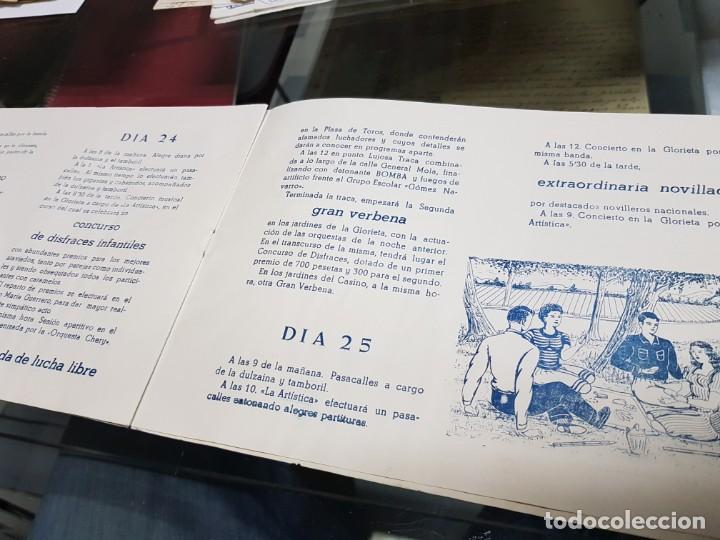 Folletos de turismo: ANTIGUO PROGRAMA FIESTAS DE NOVELDA ALICANTE 1956 - Foto 4 - 228929090