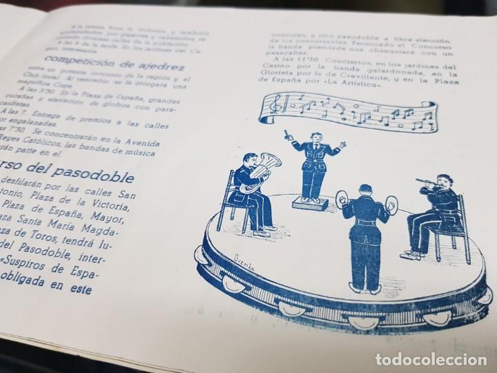 Folletos de turismo: ANTIGUO PROGRAMA FIESTAS DE NOVELDA ALICANTE 1956 - Foto 5 - 228929090