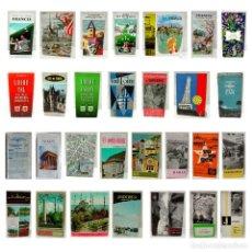 Folletos de turismo: LOTE GUÍAS-FOLLETO TURISMO-FRANCIA-MARRUECOS-JORDANIA-TURKIA-ANDORRA-AÑOS 20-50-60-70-CASABLANCA…. Lote 229527140