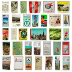 Folletos de turismo: LOTE GUÍAS-FOLLETO TURISMO-MAPA-AUSTRIA-HUNGRIA-AÑOS 50-60-70-VORARLBERG-TYROL-BAD GASTEIN-BALATON. Lote 229596530