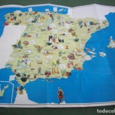 Folletos de turismo: ANTIGUA GUIA TURISTICA Y MAPA GASTRONOMICO DE ESPAÑA . PROMOCION DE BANCO DE BILBAO AÑO 1970. Lote 230399205