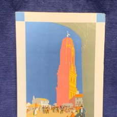 Foglietti di turismo: FOLLETO EXPOSICION INTERNACIONAL BARCELONA 1929 PUEBLO ESPAÑOL 24X15CMS. Lote 233823420