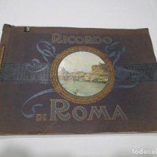 Folletos de turismo: RICORDO DI ROMA W5107. Lote 234432360