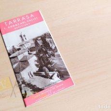 Folletos de turismo: RUTA TURÍSTICA DE TARRASA, SANT CUGAT DEL VALLES Y BARCELONA. Lote 234734160