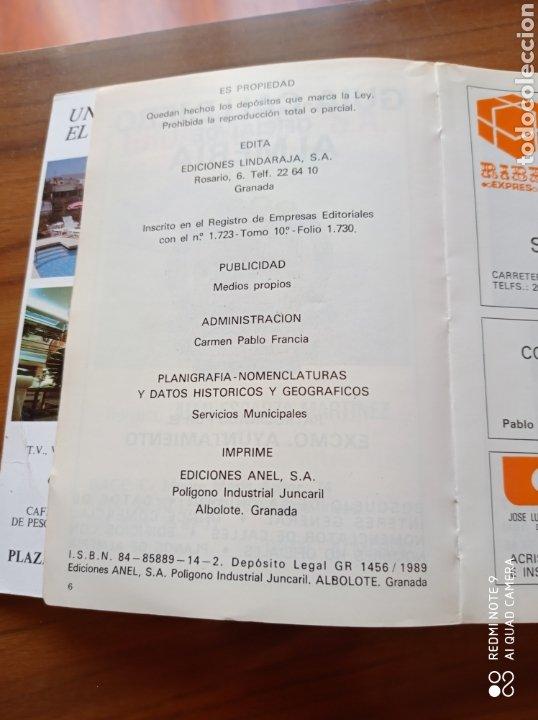 Folletos de turismo: ALMERÍA GUIA CALLEJERO OFICIAL - Foto 3 - 234810670