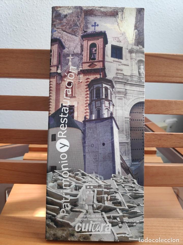 Folletos de turismo: Patrimonio y Restauración Región de Murcia, Actividades de restauración llevadas a cabo R Murcia - Foto 2 - 236106165