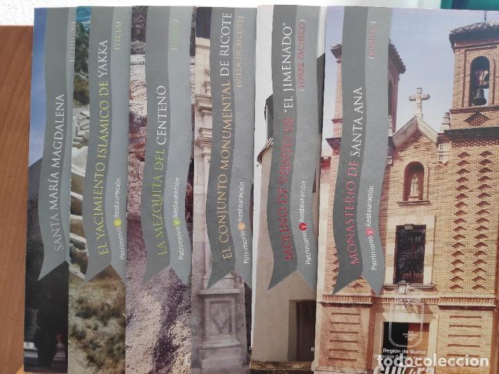 Folletos de turismo: Patrimonio y Restauración Región de Murcia, Actividades de restauración llevadas a cabo R Murcia - Foto 4 - 236106165