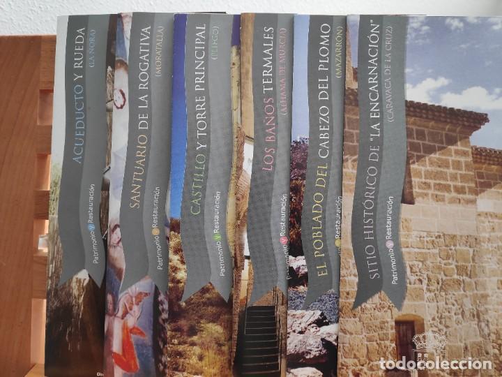 Folletos de turismo: Patrimonio y Restauración Región de Murcia, Actividades de restauración llevadas a cabo R Murcia - Foto 8 - 236106165