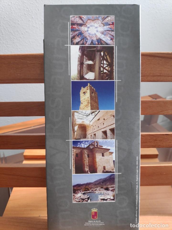 Folletos de turismo: Patrimonio y Restauración Región de Murcia, Actividades de restauración llevadas a cabo R Murcia - Foto 9 - 236106165