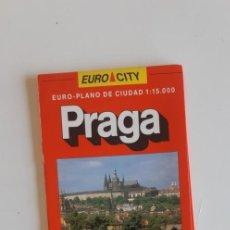 Folletos de turismo: (SEVILLA) PLANO PRAGA. PLAZA & JANES. Lote 237081230