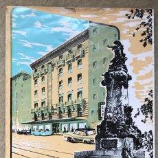 Folletos de turismo: AMANTIGUO FOLLETO PUBLICIDAD HOTEL ORIENTE - ZARAGOZA. Lote 237172740