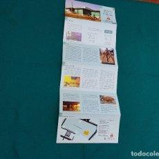 Folletos de turismo: MUSEO DE CIENCIAS NATURALES - VALENCIA. Lote 237175985