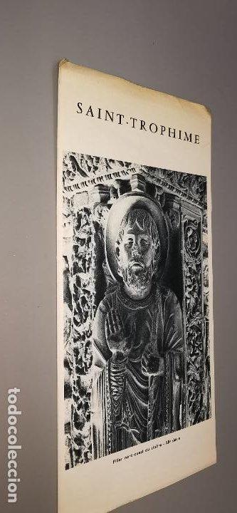 SAINT-TROPHIME FOLLETO TURISTICO (Coleccionismo - Folletos de Turismo)