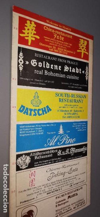 Folletos de turismo: GUESTGUIDE MUNICH JANUARY/FEBRUARY 1986 FOLLETO TURISTICO DESPLEGABLE CON MUCHA PUBLICIDAD - Foto 2 - 237466495