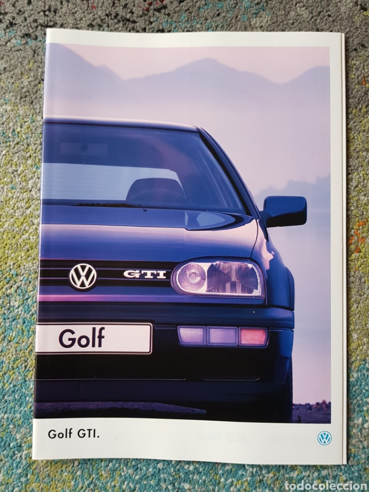 FOLLETO GOLF GTI (Coleccionismo - Folletos de Turismo)