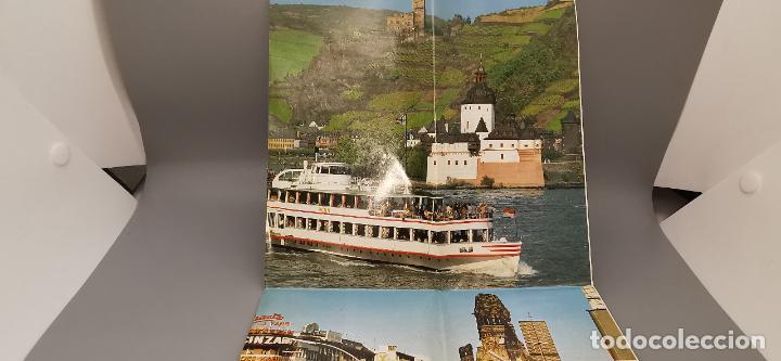 Folletos de turismo: FOLLETO 1987 DESPLEGABLE - BIENVENIDO A ALEMANIA - MAPA -1986 - Foto 2 - 237467820