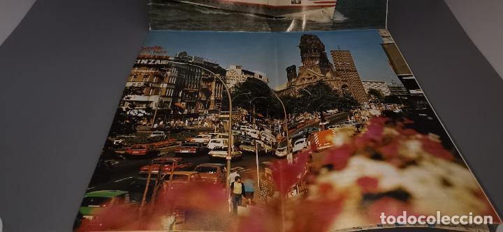 Folletos de turismo: FOLLETO 1987 DESPLEGABLE - BIENVENIDO A ALEMANIA - MAPA -1986 - Foto 3 - 237467820