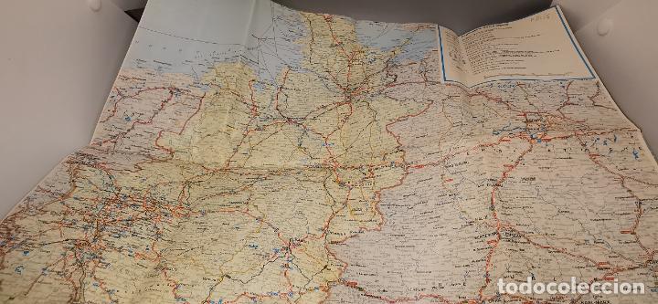 Folletos de turismo: FOLLETO 1987 DESPLEGABLE - BIENVENIDO A ALEMANIA - MAPA -1986 - Foto 5 - 237467820
