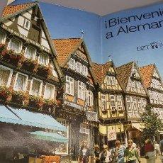 Folletos de turismo: FOLLETO 1987 DESPLEGABLE - BIENVENIDO A ALEMANIA - MAPA -1986. Lote 237467820