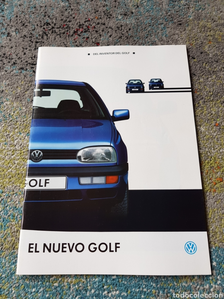 FOLLETO GOLF (Coleccionismo - Folletos de Turismo)