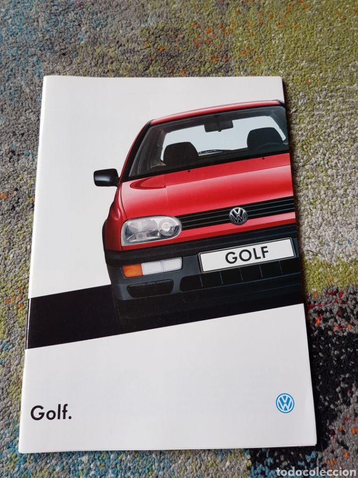 FOLLETO GOLF CL GL GOLF GTD (Coleccionismo - Folletos de Turismo)