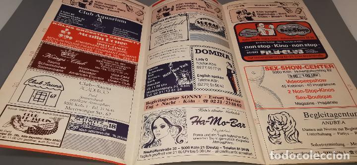 Folletos de turismo: kolner gastefuhrer (colonia-alemania) folleto desplegable con mucha publicidad Junio 1986 - Foto 2 - 237477025