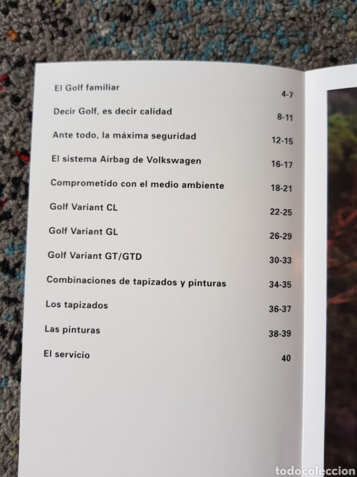 Folletos de turismo: Folleto golf Variant - Foto 3 - 237479615