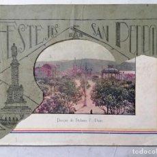Folletos de turismo: FESTEJOS SAN PEDRO, LA FELGUERA, CERTAMEN PROVINCIAL DEL TRABAJO, AÑO 1927, 110 PAGINAS. Lote 243605740