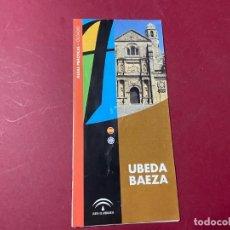 Folletos de turismo: FOLLETO PLANO DESPLEGABLE UBEDA BAEZA TURISMO. Lote 243906195