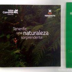 Folletos de turismo: TENERIFE UNA NATURALEZA SORPRENDENTE. Lote 244711110