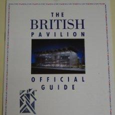Folletos de turismo: DOCUMENTO FOLLETO TURÍSTICO. EXPO SEVILLA 92 1992. PABELLON GRAN BRETAÑA 18P. 40GR. 192. Lote 244763855