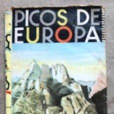 Folletos de turismo: PICOS DE EUROPA, PLANO GENERAL TURÍSTICO (1965). J. ARIAS CORCHO. 52 X 94 CMS.. Lote 266515183