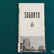 Folletos de turismo: FOLLETO DE SAGUNTO (1964) DESPLEGABLE - RW. Lote 245273315