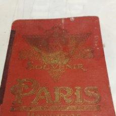 Folletos de turismo: SOUVENIR DE PARIS A. PAPEGHIN MONUMENTOS 15 ILUSTRACIONES A COLOR FINALES SIGLO XIX. Lote 246603215