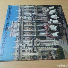 Folletos de turismo: MADRID Y SU CONTORNO MONUMENTAL / ESPAÑA / MINISTERIO INFORMACION TURISMO / AC104. Lote 248063550