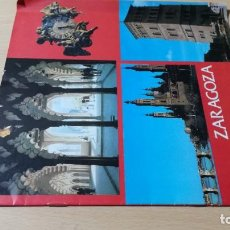 Folletos de turismo: ZARAGOZA ESPAÑA / MINISTERIO INFORMACION Y TURISMO / FOLLETO TURISTICO / ESQ111. Lote 248088735